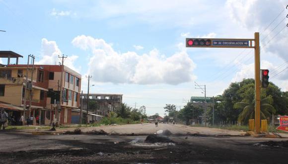 Paro en Madre de Dios: calles vacías por temor a manifestantes
