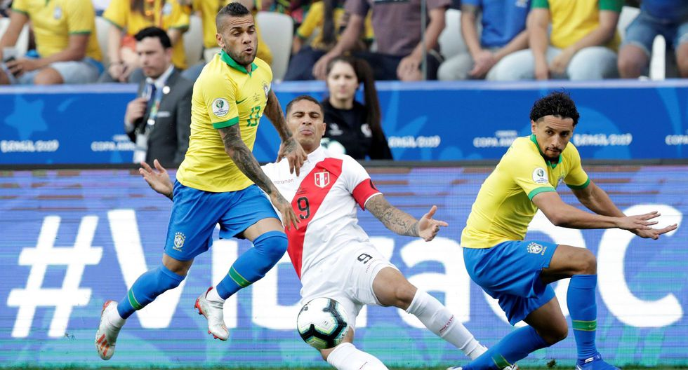 Brasil vs. Perú: por Copa América. (Foto: AFP)