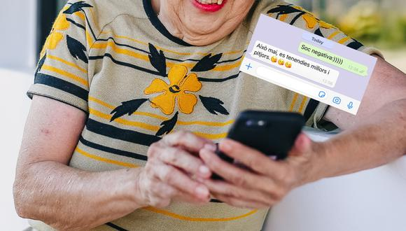 Una conversación vía WhatsApp se convirtió en lo más visto en redes sociales por la tierna, pero viral respuesta de una abuela a su nieta. | Crédito: Pexels / Referencial / @marysteavecole / Twitter.