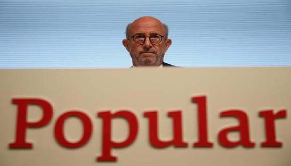 El Banco Popular de España fue vendido por un euro para evitar la quiebra.