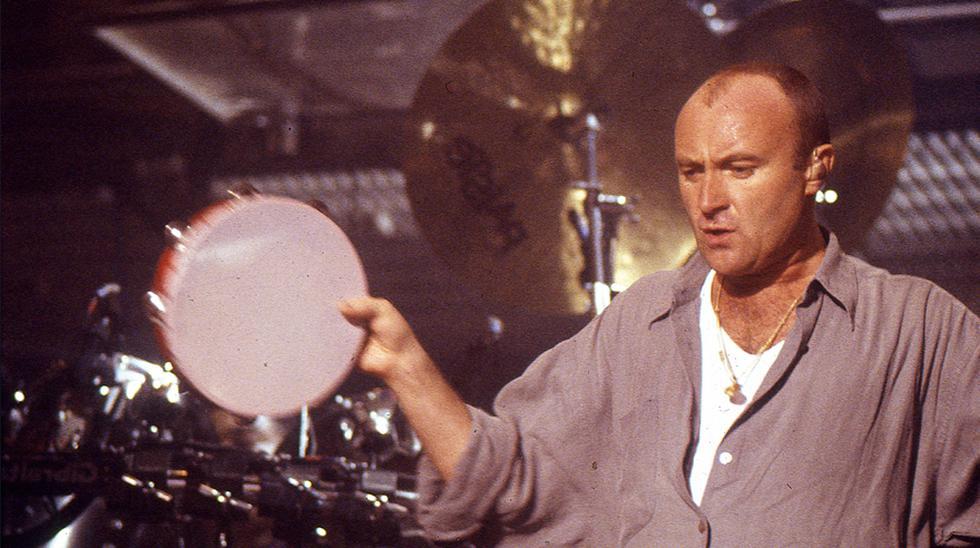 Phil Collins en su primer y único concierto en Lima hasta ahora,  en 1995. (Foto: Archivo Histórico del Comercio)