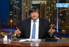 Jaime Bayly dijo esto sobre decisión de Martín Vizcarra de disolver el Congreso | VIDEO