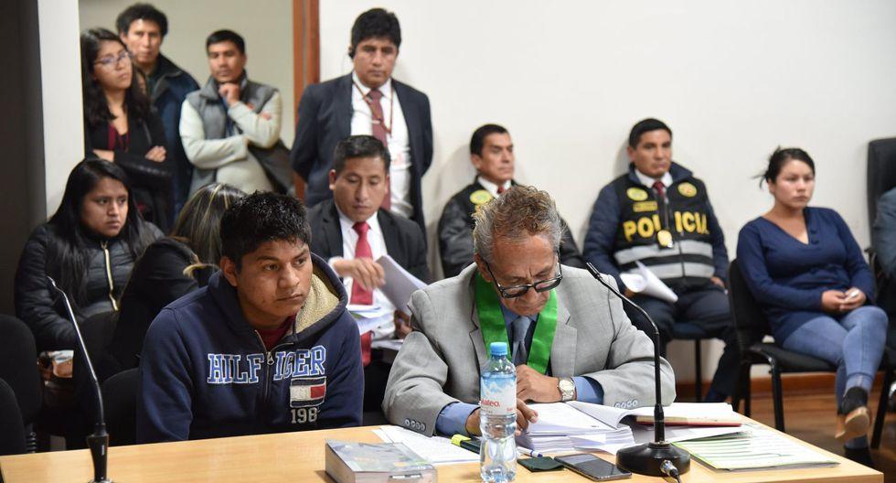 Audiencia se realizó anoche en la sede central de la Corte de Junín. El juez Segundo Huamán Carrasco dispuso que el investigado sea internado al penal de Huancayo. (Foto: Corte Superior de Justicia de Junín)