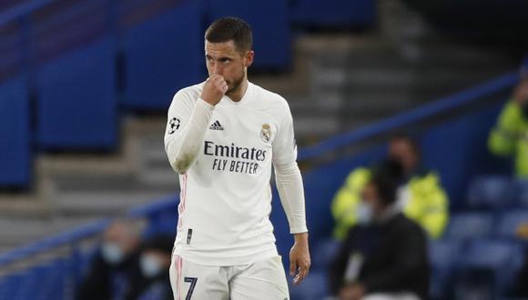 Eden Hazard aseguró que seguirá en Real Madrid. (Foto: AP)