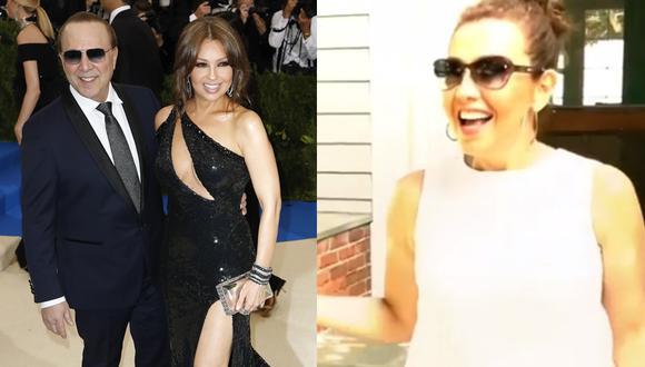 Tommy Mottola sorprende a Thalía con millonario regalo de cumpleaños