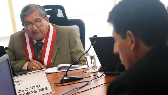 Julio Gutiérrez, uno de los involucrados en los audios con negociaciones entre jueces y consejeros. (CNM)