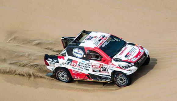 Finalmente Toyota tiene todo para celebrar en un rally Dakar. (Foto: Red Bull)