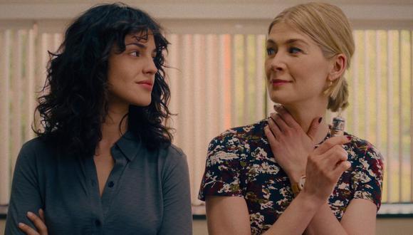 """Eiza González reveló que no utilizó maquillaje en la cinta """"Descuida, yo te cuido"""";  y esto le hizo tener una nueva perceptiva de su personaje.  (Foto: Netflix)"""