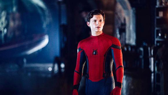 Tom Holland en Spider-Man: Far From Home'.