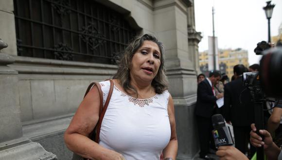 Zenaida Solís, del Partido Morado, aseguró que si integran o no la Mesa Directiva, mantendrán una agenda independiente. (Foto: Anthony Niño de Guzmán/GEC)