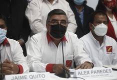 """Vocero de Perú Libre sobre 'Los dinámicos del centro': """"Si hay involucrados el partido debería solicitarles un paso al costado"""""""
