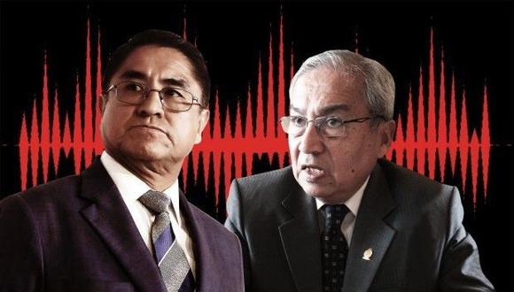 En el transcurso de las dos últimas semanas se han conocido otros audios de César Hinostroza y Pedro Chávarry. (Foto: El Comercio/ Video: Canal N)