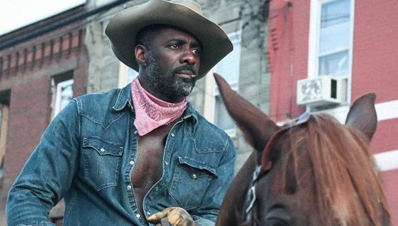 """Idris Elba en """"Cowboys de Filadelfia"""". (Foto: Netflix)"""