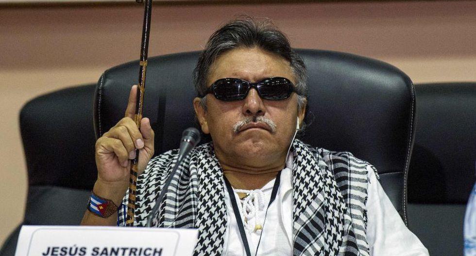 Colombia: Dictan orden de captura contra Jesús Santrich, ex líder de las FARC. (AFP)