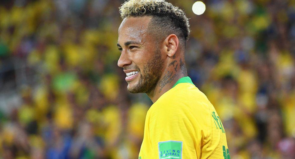Neymar es la máxima estrella de Brasil de cara a la Copa América 2019. | Foto: EFE