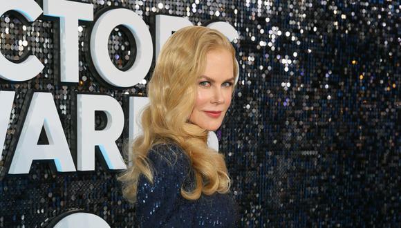 Nicole Kidman estrenará este fin de semana su último trabajo televisivo en la plataforma HBO. (Foto: Jean-Baptiste Lacroix / AFP)