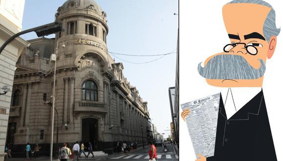 La historia de El Comercio se encuentra muy ligada al tradicionalista Ricardo Palma. (Foto: GEC/ Víctor Aguilar)