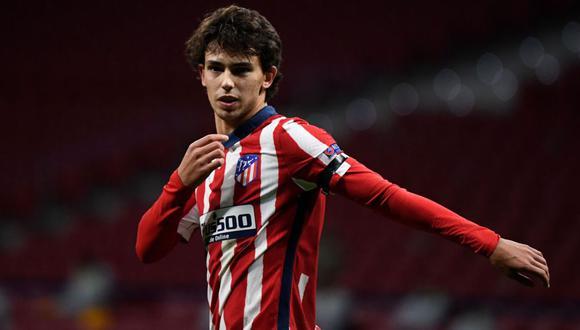 Joao Félix llegó hace dos temporadas al Atlético de Madrid, club que desembolsó 127 millones de euros por su fichaje. (Foto: Agencia)