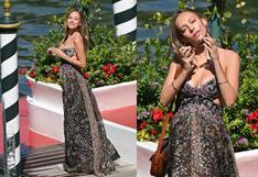 Ester Expósito: actriz española sorprende con look primaveral en el Festival de Venecia   FOTOS