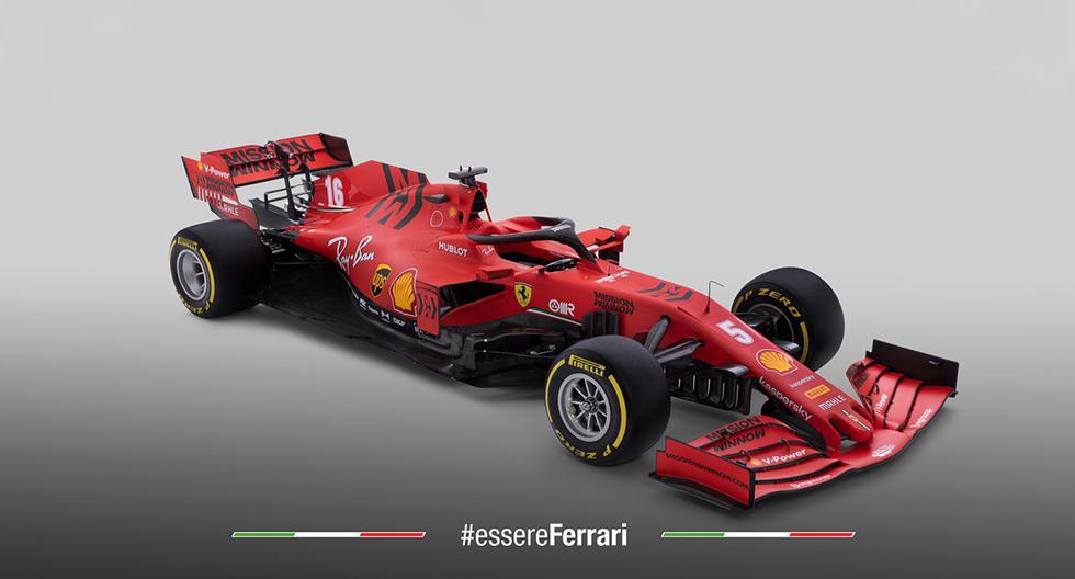 Ferrari disputará su carrera número 1.000 en el Gran Premio de Canadá. Por ello, el monoplaza fue bautizado con el nombre SF1000. (Fotos: Ferrari).