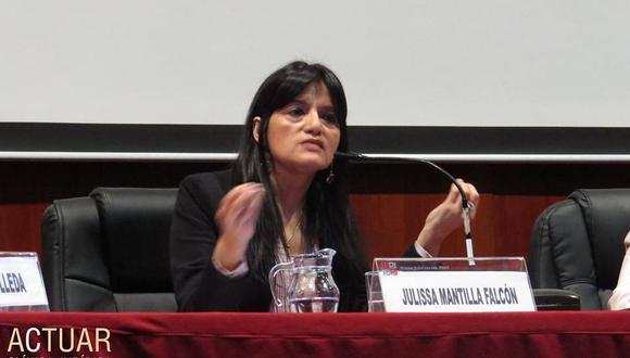 La catedrática Julissa Mantilla Falcón fue elegida como integrante de la CIDH, órgano autónomo de la OEA. (Foto: Facebook)