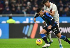 Inter de Milán empató 0-0 con Roma y pone en peligro su liderazgo en la Serie A