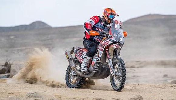 Borrell ha corrido tres veces el Dakar, lo acabo en el 2013 y 2019. (Foto: Facebook)