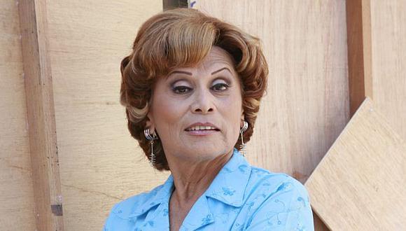 """La actriz es conocida por sus roles estelares de Olga Gómez en """"Mil Oficios"""" y Nelly Camacho en """"Al fondo hay sitio"""" (Foto: GEC)"""
