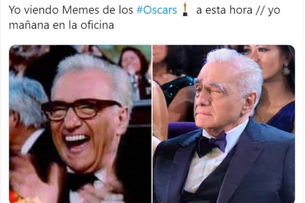 Oscar 2020. Los mejores memes de la gala del cine. Foto: Twitter.
