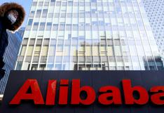 Alibaba anuncia pérdida trimestral de US$ 1.170 millones tras multa récord