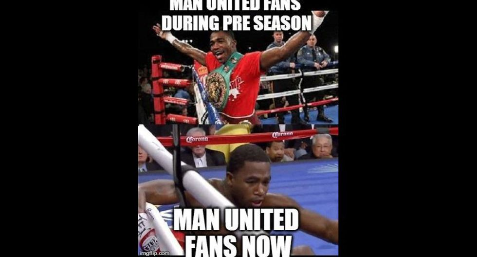 Mira los divertidos memes de la caída del Manchester United  - 16