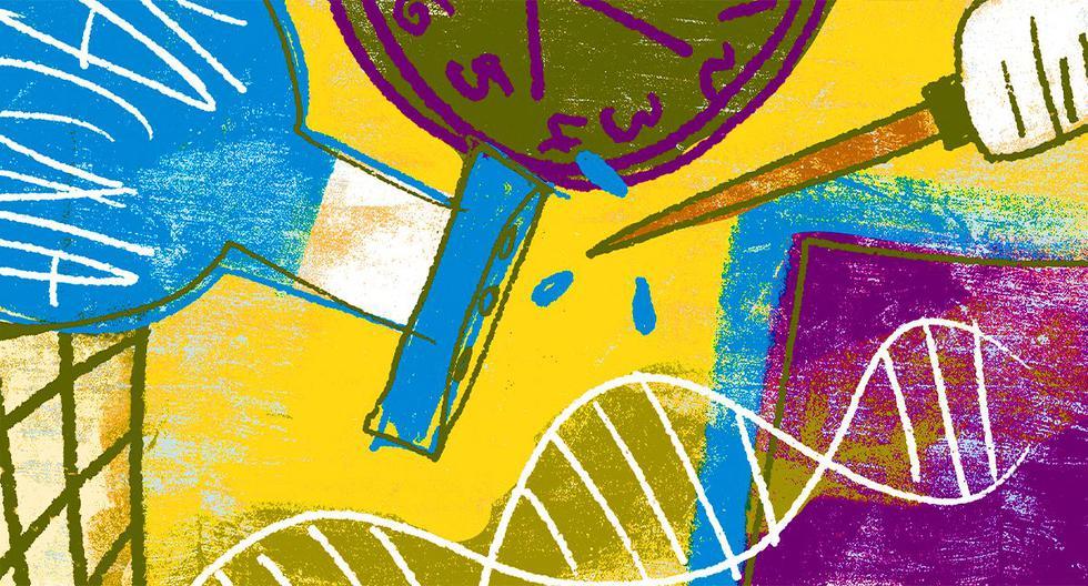 La tecnología de ARNm nos depara un futuro brillante en el control de muchas enfermedades. (Ilustración: Giovanni Tazza)