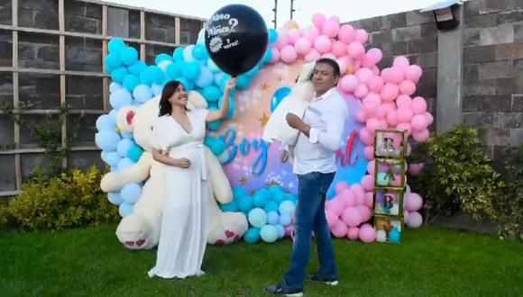 Lesly Castillo reveló que su segundo bebé también será una niña. (Foto: Captura de video)