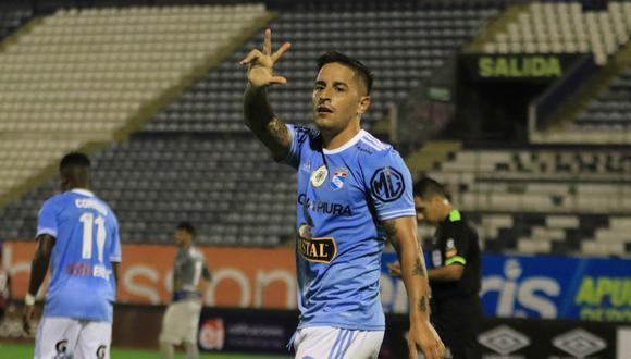 Alejandro Hohberg llegó a Sporting Cristal en 2021. (Foto: Liga de Fútbol Profesional)