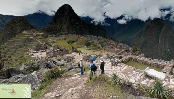 Google ofrece un paseo virtual por Machu Picchu y sus riquezas.