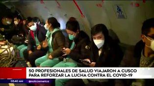 Coronavirus en Perú: médicos viajan a Cusco y se suman a la lucha contra la COVID-19