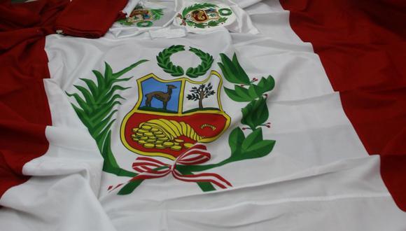 Bandera peruana. (Foto referencial: Archivo de El Comercio)