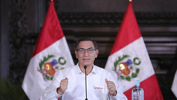 Presidente Martín Vizcarra ofrecerá pronunciamiento en el día 34 del estado de emergencia para frenar avance de coronavirus. (Foto: Presidencia)
