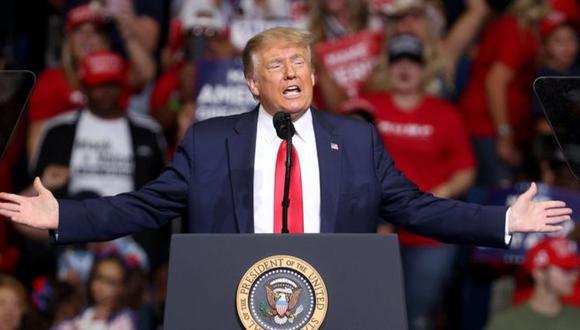 El endurecimiento de las políticas de inmigración es parte importante de la estrategia electoral de Trump. (Getty Images).