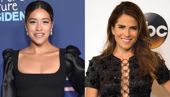 """Gina Rodríguez y Karla Souza protagonizarán juntas una comedia """"road trip"""". (Foto: AFP/ LISA O'CONNOR y VALERIE MACON)"""