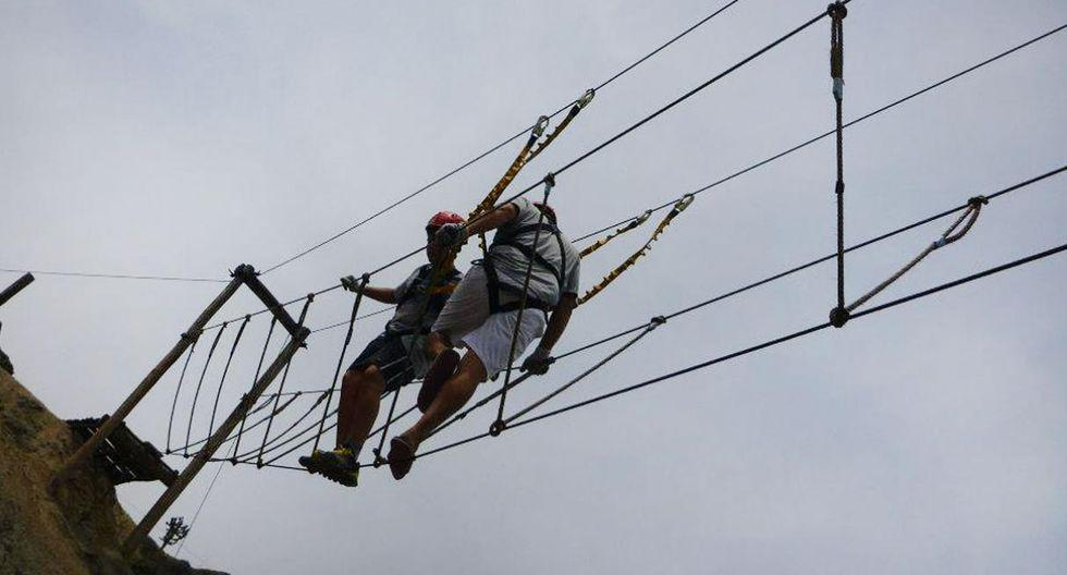 Circuito de aventura en Illari.En este campo vivencial, ubicado en Huaral, a 75 kilómetros al norte de Lima, podrás disfrutar de imperdibles actividades de aventura.