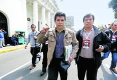 Inscriben a sindicato que fue fundado por Pedro Castillo