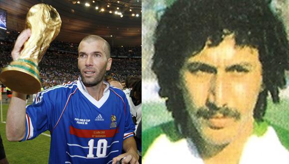 El primer Zidane que anotó en un Mundial no fue Zinedine