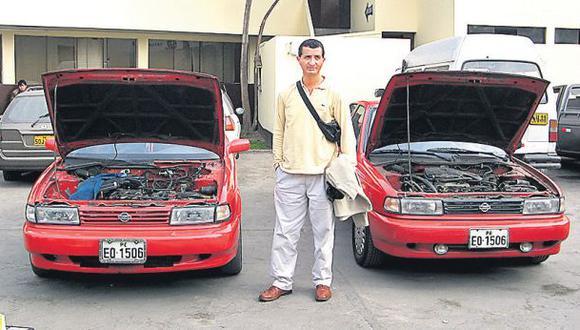 Autos robados son clonados y vendidos a bajo costo en provincia