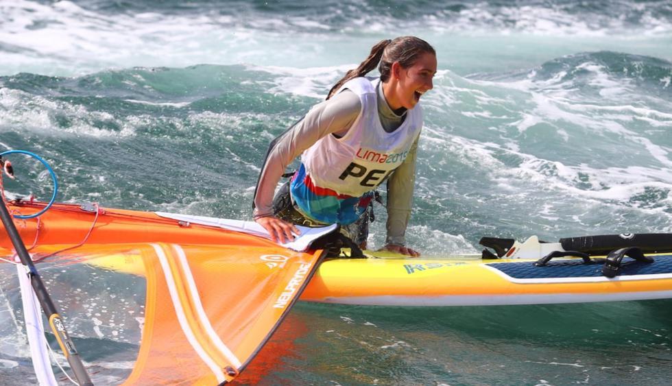 Maria Belén Bazo fue la mejor representante peruana en vela. (Foto: Alessandro Currarino)
