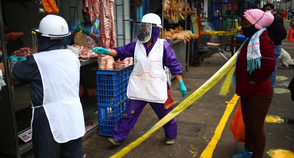 El mercado de Caquetá vuelve a atender a la gente.  (Foto: Hugo Curotto/GEC)
