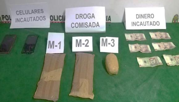 Huánuco: intervienen a dos 'momias' por llevar droga adherida en sus cuerpos