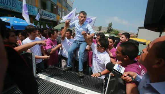 Julio Guzmán irá al JNE para seguir en la carrera electoral