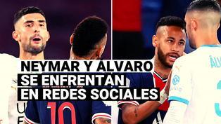 PSG vs. Olympique Marsella: Neymar y Álvaro González discuten duramente en redes sociales