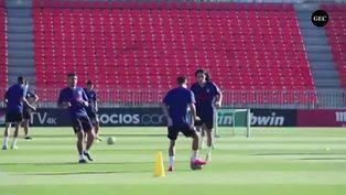 Atlético de Madrid se alista para enfrentar al Barcelona en su visita al Camp Nou
